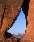 Tear Drop Posters - Tear Drop Arch-Monument Valley Poster by Joe  Palermo