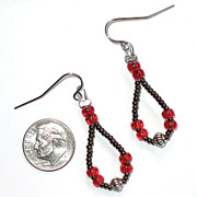 Bale Jewelry - Teardrop Earrings by Elizabeth Carrozza