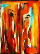Haiti Paintings - Tears for Haiti by Vel Verrept