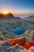 Mountain Lake Prints - Tears Of the Giant Print by Evgeni Dinev