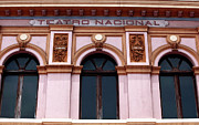 Latin America Photos - Teatro Nacional by John Rizzuto