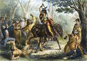 War Of 1812 Prints - Tecumseh (1768-1813) Print by Granger