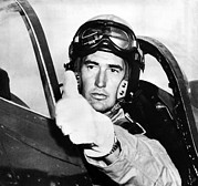 Ted Photo Metal Prints - Ted Williams 1918-2002, American Metal Print by Everett