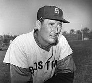 Ted Williams (1918-2002) Print by Granger