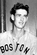 Hall Of Famer Prints - Ted Williams, 1941 Print by Everett