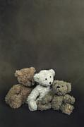 Teddy Bear Family Print by Joana Kruse