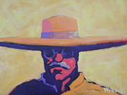 Cow Boy Paintings - Teddy Roosevelt by Stephen Wysocki