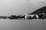 Lake House Metal Prints - Tegernsee Metal Print by Ralf Kaiser