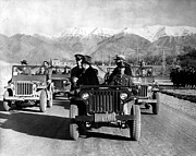 Jeep Prints - Tehran Conference, 1943 Print by Granger