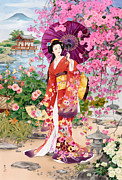 Teien Print by Haruyo Morita