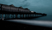Amusements Photos - Teignmouth pier at dusk  by Rob Hawkins