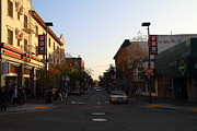 University Of California At Berkeley Metal Prints - Telegraph Avenue at Bancroft Way In Berkeley California  . 7D10174 Metal Print by Wingsdomain Art and Photography