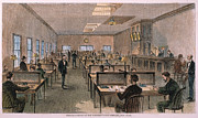 American City Prints - Telegraph Office Print by Granger