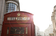 Piccadilly Prints - Telephone Box Print by Henry Donald