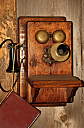 Retro Phone Photos - Telephone Old Fashioned by Carolyn Marshall