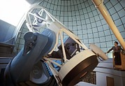 Armenia Prints - Telescope At The Byurakan Observatory Print by Ria Novosti