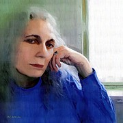 Portrait Format Digital Art - Tell Me More by RC DeWinter