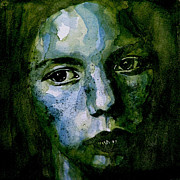 Portrait Paintings - Tell MeTheres a Heaven by Paul Lovering