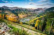 Photogaph Art - Telluride Sunset One by Josh Whalen