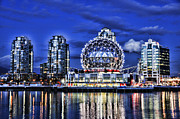Vancouver Photo Originals - Telus Science Center Vancouver Bc by Lawrence Christopher