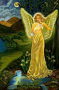 Fa Framed Prints - Temperance Goddess Framed Print by Pamela Wells