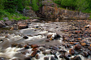 Temperance River Photos - Temperance River by Steve Stuller