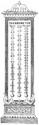 1736 Prints - Temperature Scales, 1870 Print by Science Source
