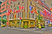 Land Scape Digital Art Prints - Temple Bar Print by Barry R Jones Jr