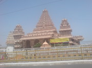 Lakshmi Photos - Temple Building atChattarpur Temple Complex by Lalitmohan Khungar