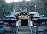 Samurai Photo Prints - Temple Building Print by Irina  March