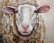 Lamb Framed Prints - Temple Framed Print by Laura Carey