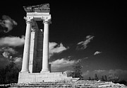Republic Prints - Temple Of Apollo Hylates In The Sanctuary Of Apollon Ylatis At Kourion Cyprus Print by Joe Fox