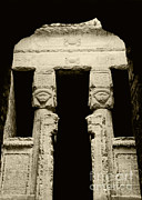 Hathor Framed Prints - Temple Of Hathor Framed Print by Photo Researchers, Inc.