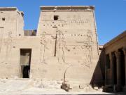 Hathor Prints - Temple of Isis at Philae Print by Richard Deurer