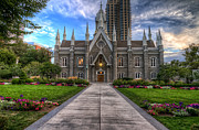 Granger Photography Photos - Temple Square Assembly Hall by Brad Granger