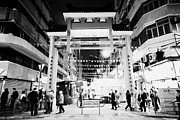Temple Street Night Market Tsim Sha Tsui Kowloon Hong Kong Hksar China Print by Joe Fox