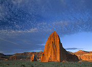 Cathedral Rock Photos - Temples Of The Sun And Moon by Tim Fitzharris