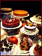 Pantry Posters - Tempting Treats...untitled Poster by Linda  Parker
