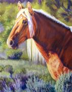 Desert Pastels Prints - Temptress 2 Print by Deb LaFogg-Docherty