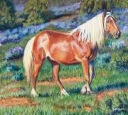 Old West Pastels Prints - Temptress Print by Deb LaFogg-Docherty