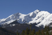 Summit County Colorado Photos - Ten Mile Peak aka Peak One Colorado by Brendan Reals