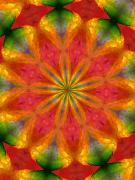 Kaleidoscope Digital Art - Ten Minute Art 090610-A by David Lane