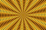 Op Art Digital Art - Ten Minute Art 2 by David Lane