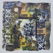 Golds Mixed Media Prints - Ten Print by Sue Gilliam