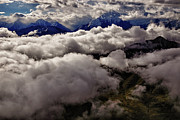 Denali National Park Prints - Ten Thousand Feet Over Denali Print by Rick Berk