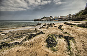 Harbour Photos - Tenby Harbour from North Beach 6 by Steve Purnell