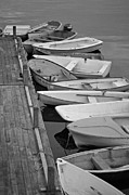 Skiffs Framed Prints - Tenders Framed Print by David Rucker