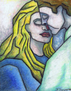 Oil Pastel Prints Originals - Tendor Moment by Kamil Swiatek