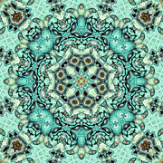 Kaleidoscope Metal Prints - Tendresse - 21 Metal Print by Aimelle