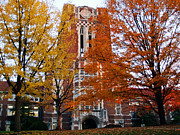 Autumn Photos Prints - Tennessee Ayers Hall Print by University of Tennessee Athletics